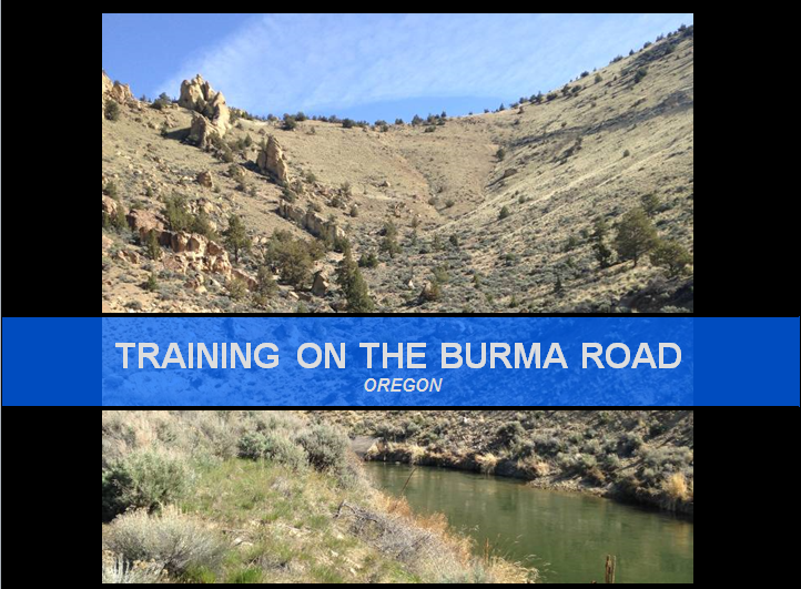 Training Burma Road