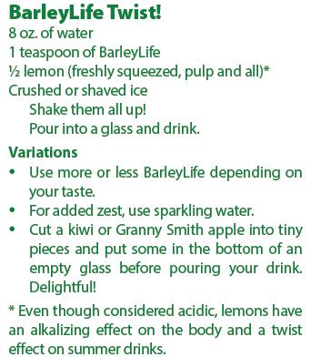 BarleyLife Twist