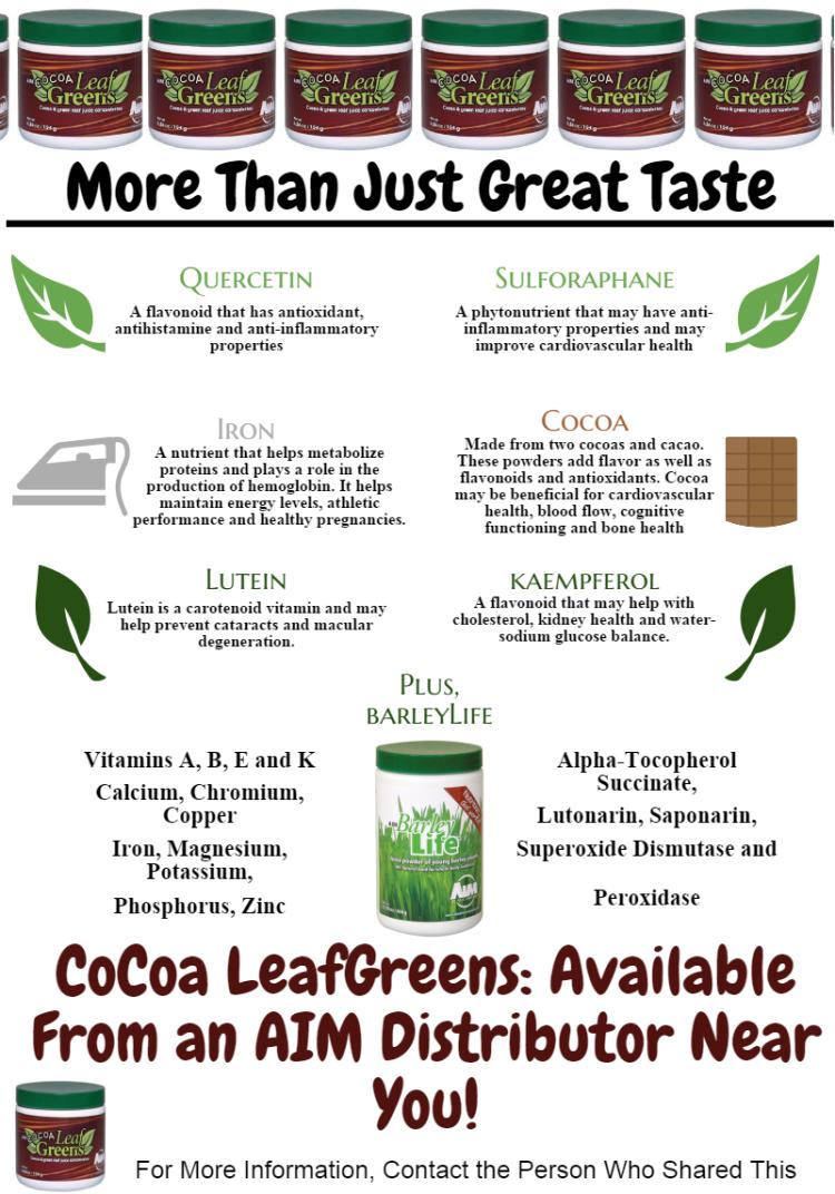 CoCoa LeafGreens
