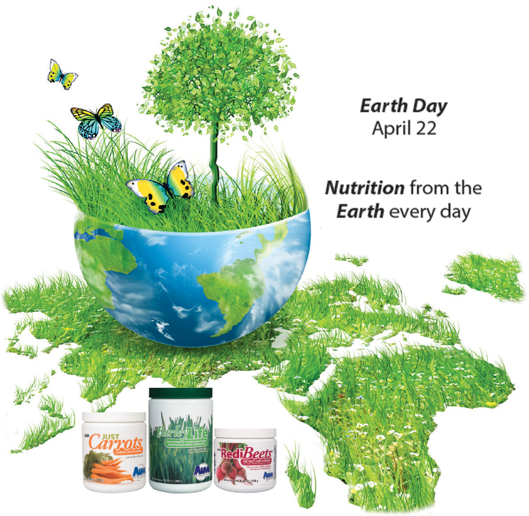 Earth Day — April 22