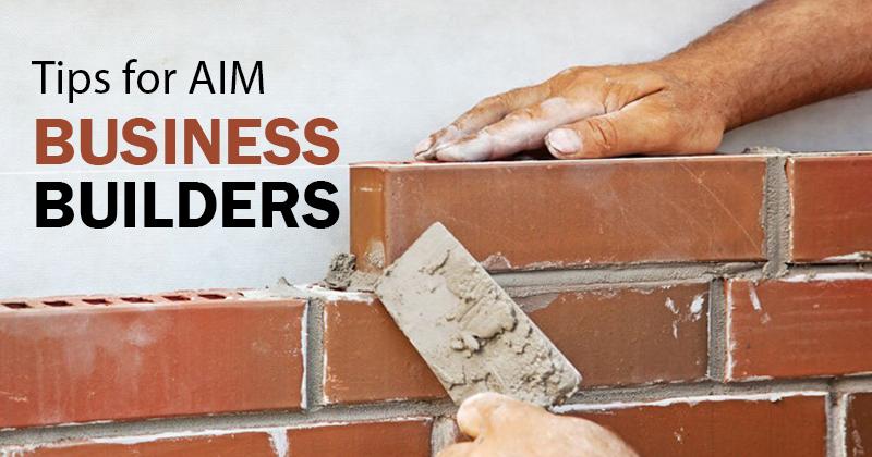 Tips for AIM BusinessBuilders