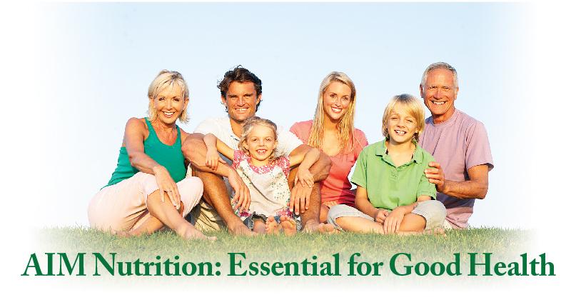 AIM Nutrition: Essential for GoodHealth