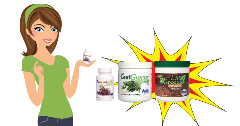 The Secret Power of LeafGreens and Proancynol 2000