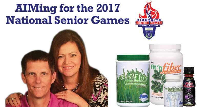 AIMing for the 2017 National Senior Games