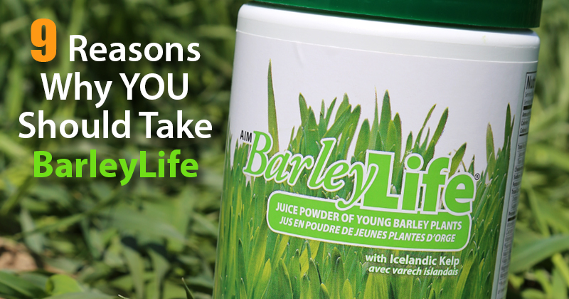 Nine Reasons Why You Should Take AIM BarleyLife