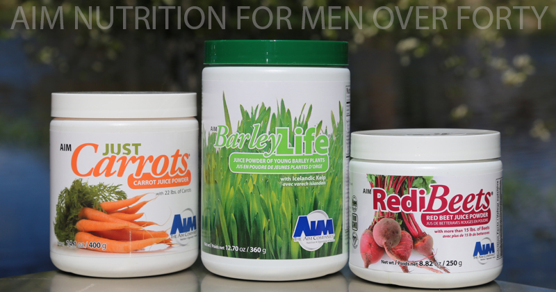 AIM Nutrition for Men over Forty