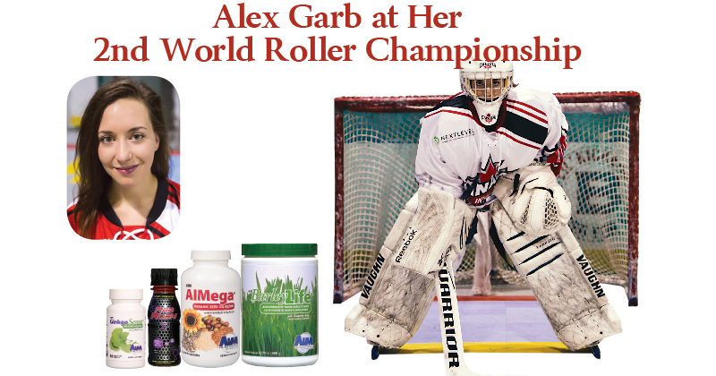 Alex Garb at Her 2nd World Roller Championship