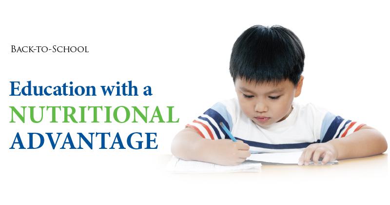 Education with a NutritionalAdvantage