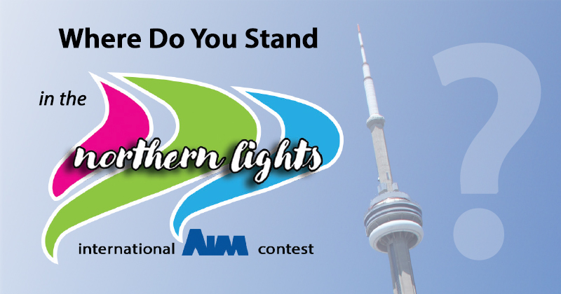Leaders in The Northern Lights International Contest by AIM