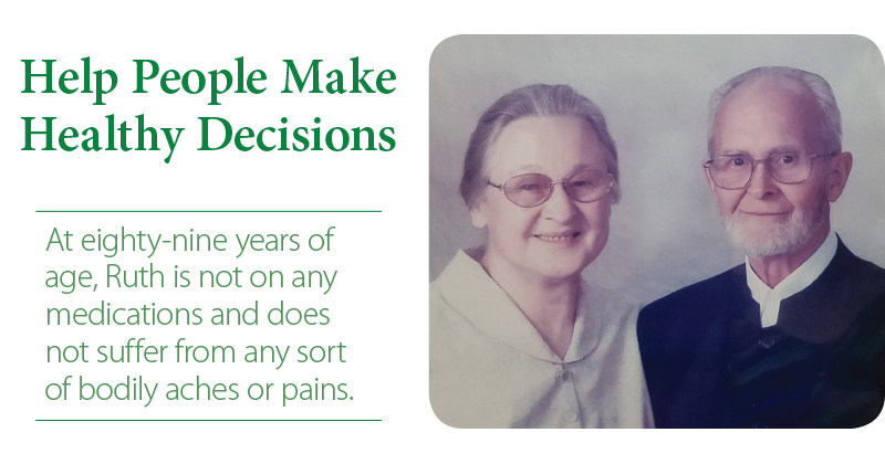 Help People Make Healthy Decisions