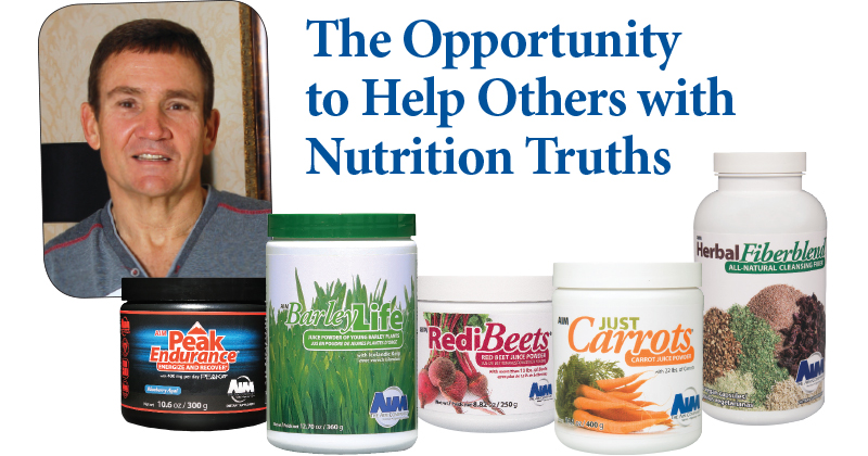 The Opportunity To Help Others With Nutrition Truths The