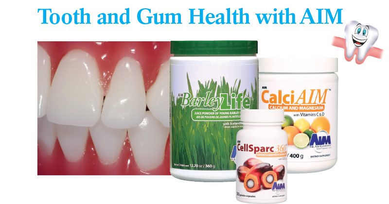 Tooth and Gum Health with AIM