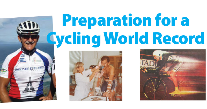 Preparation for a Cycling World Record