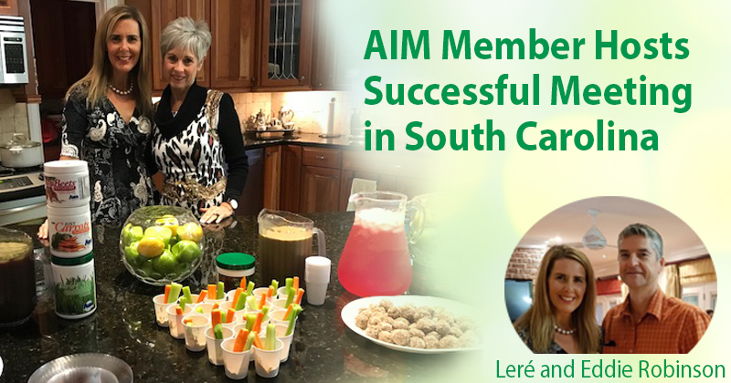 AIM Member Hosts Successful Meeting in South Carolina