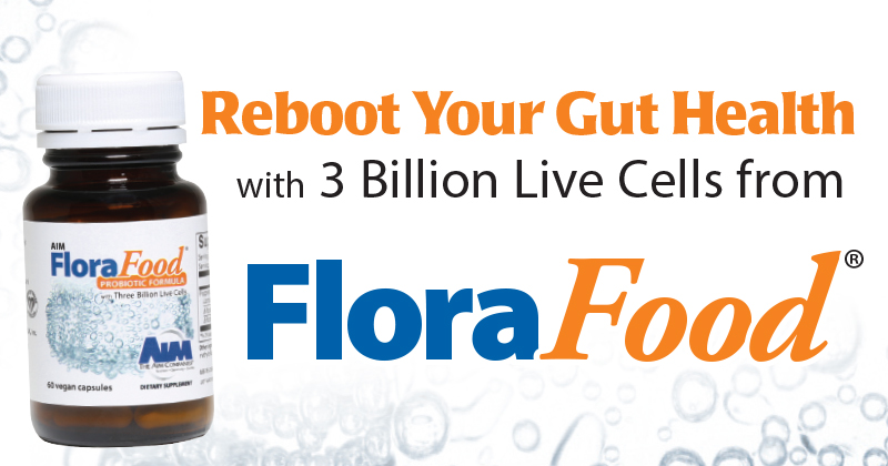 Reboot Your Gut Health with 3 Billion Live Cells from FloraFood