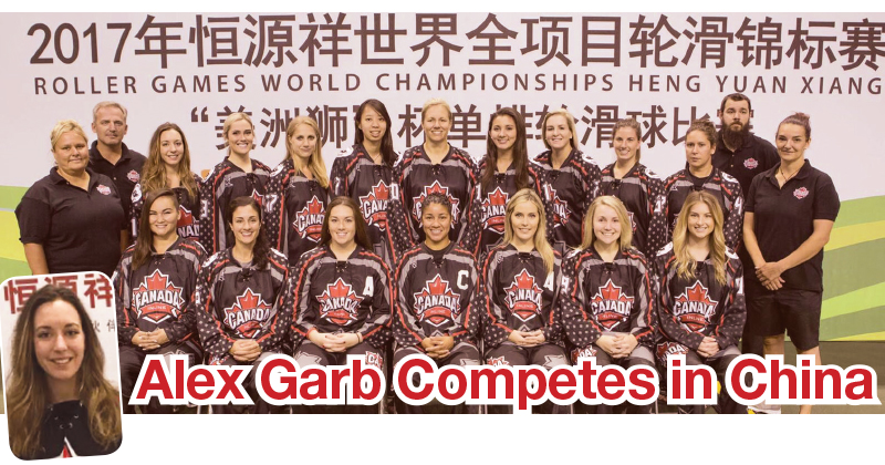 Alex Garb Competes in China
