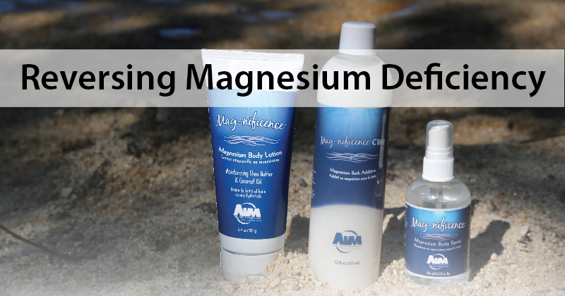 Reversing Magnesium Deficiency