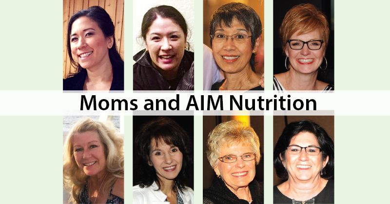 Moms and AIM Nutrition