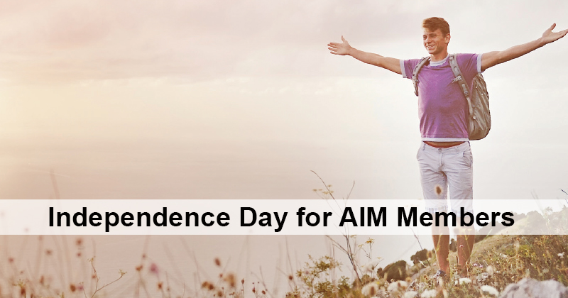 Independence Day for AIM Members
