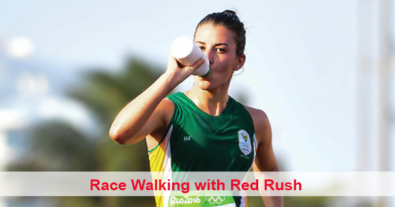 Race Walking with Red Rush