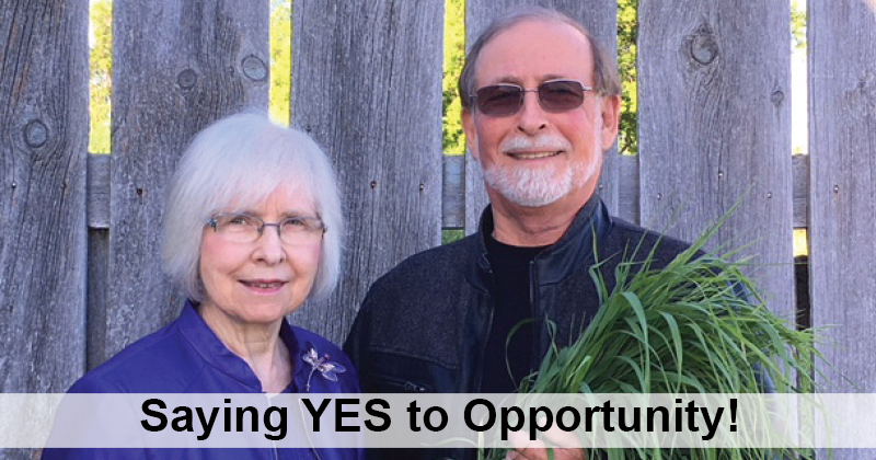 Saying Yes! to Opportunity