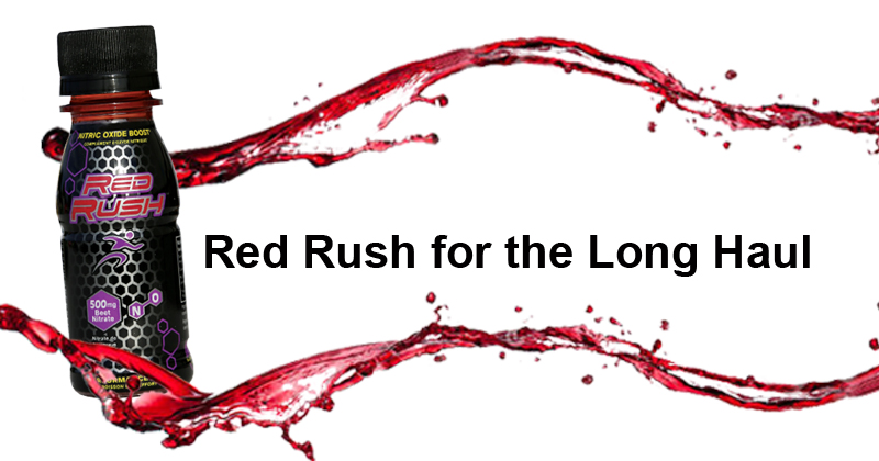 Red Rush for the Long Run or Walk