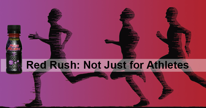 Red Rush: Not Just for Athletes