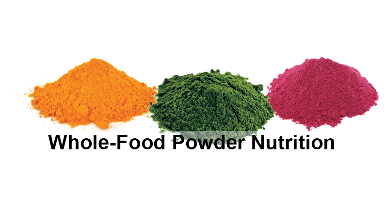 Whole-Food Powder Nutrition