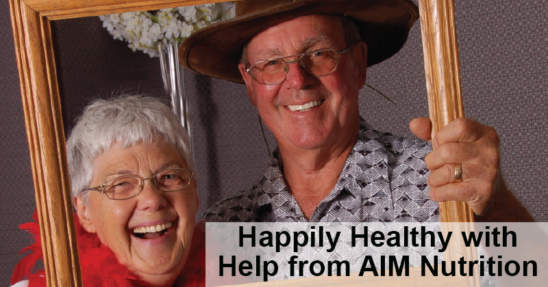 Picture Perfect and Happily Healthy with Help from AIM Nutrition
