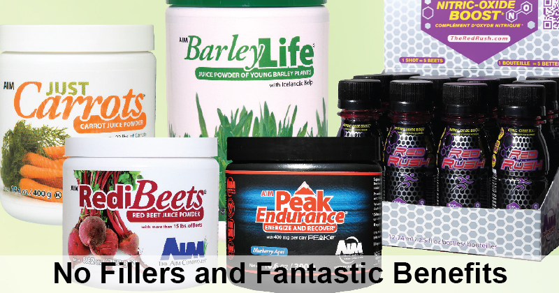 AIM Nutrition: No Fillers and FantasticBenefits