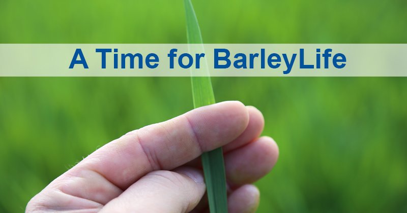 A Time for BarleyLife