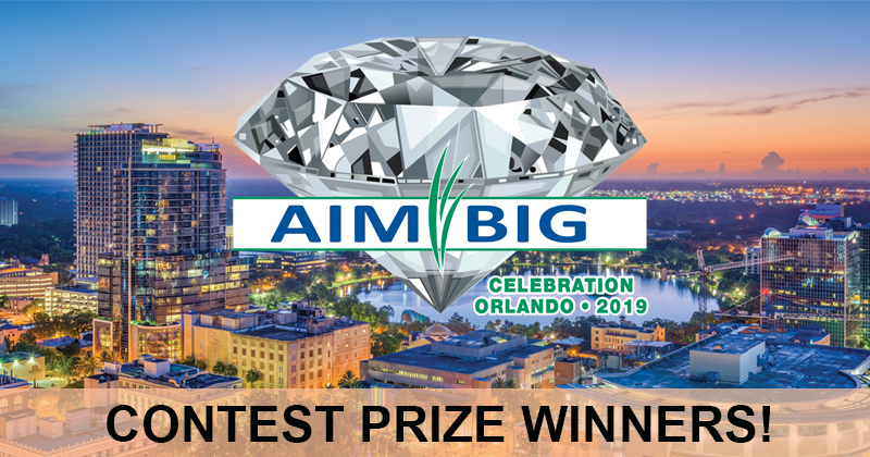 AIM BIG Contest Final Standings