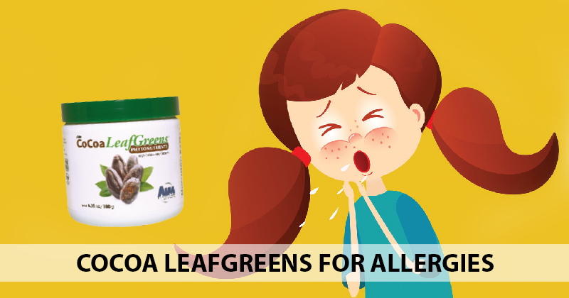 CoCoa LeafGreens for Allergies