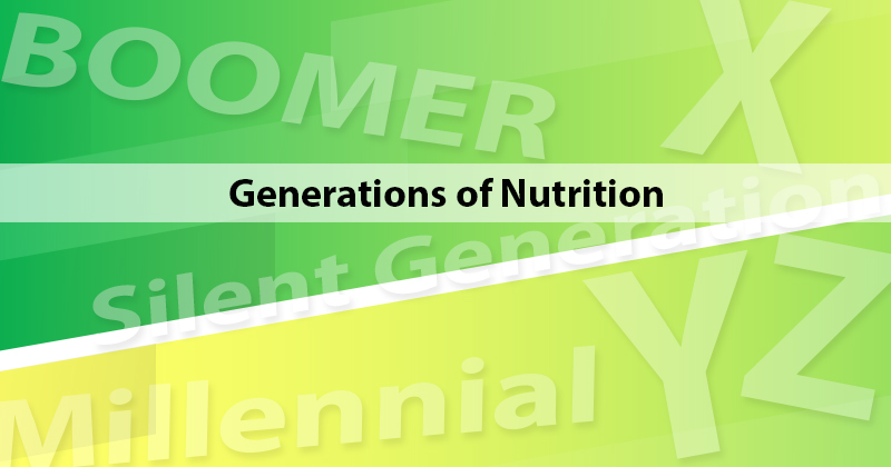 Generations of Nutrition