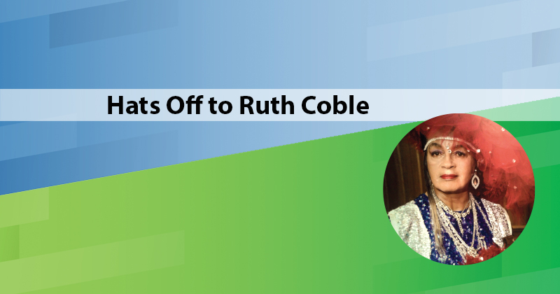 Hats Off  to RuthCoble